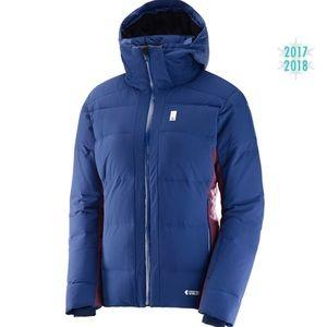 Salomon Whitebreeze Down Jacket. NEW WITHOUT TAGS.